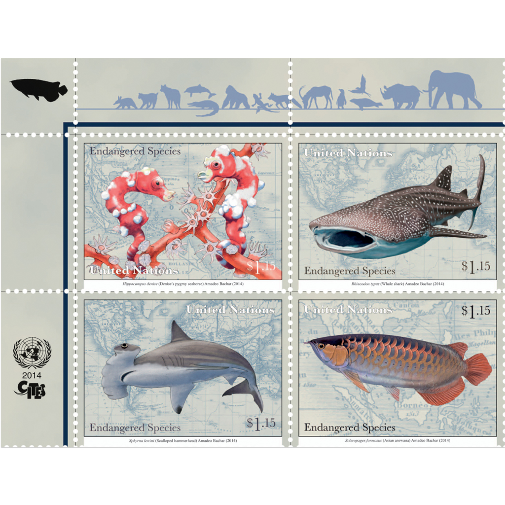 Endangered Species NY US$ 1.15