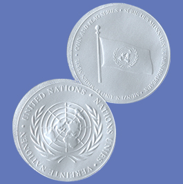 Coin and Flag