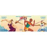 Olympic US$ 0.47 se-tenant