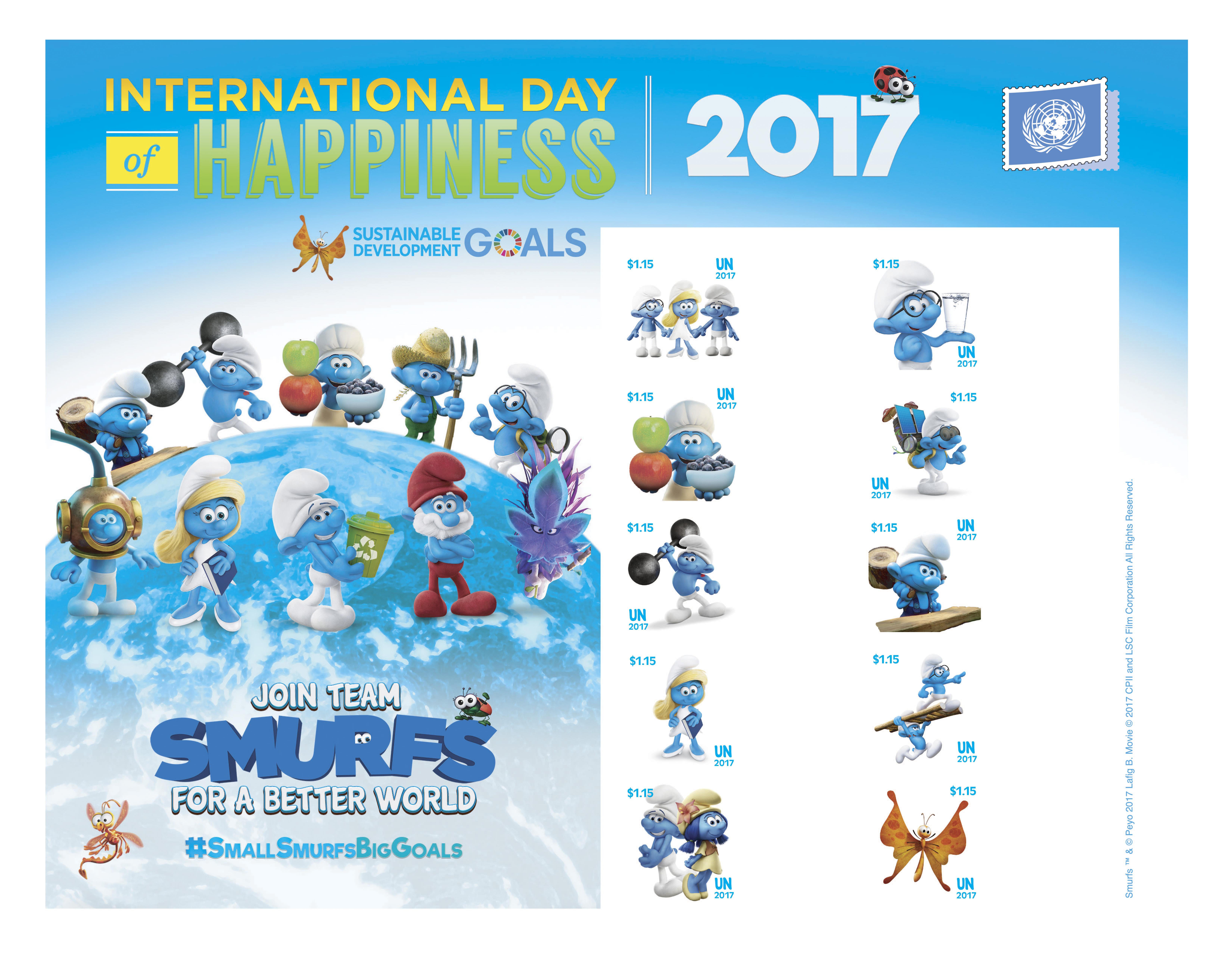 UNPA-The-Smurfs-2017